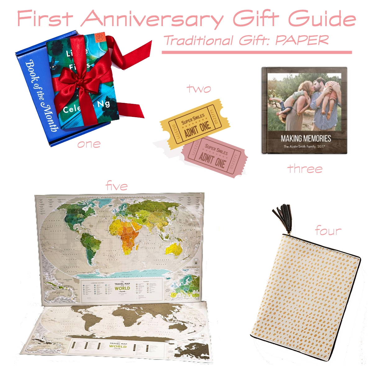 Wedding Anniversary Gift Guide Modern Versions Of
